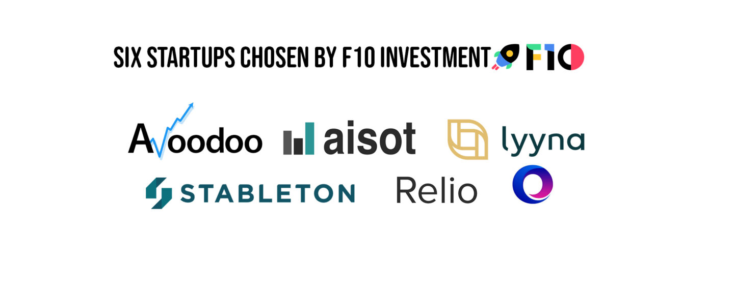 F10 Investment Selects 6 Fintech and Insurtech Startups for 2021