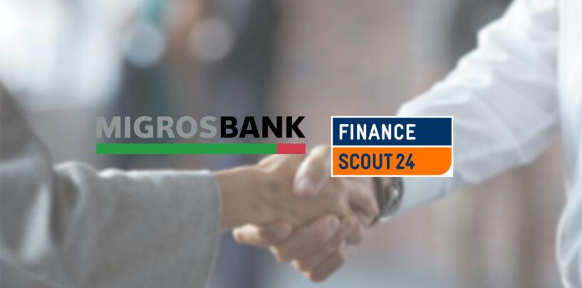 Migros Bank kooperiert mit FinanceScout24 für Online-Kredit Vertrieb