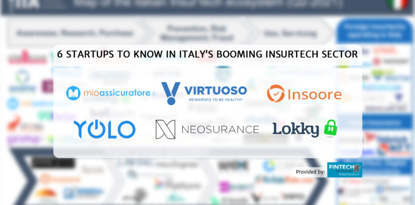6 Startups to Know in Italy's Booming Insurtech Sector