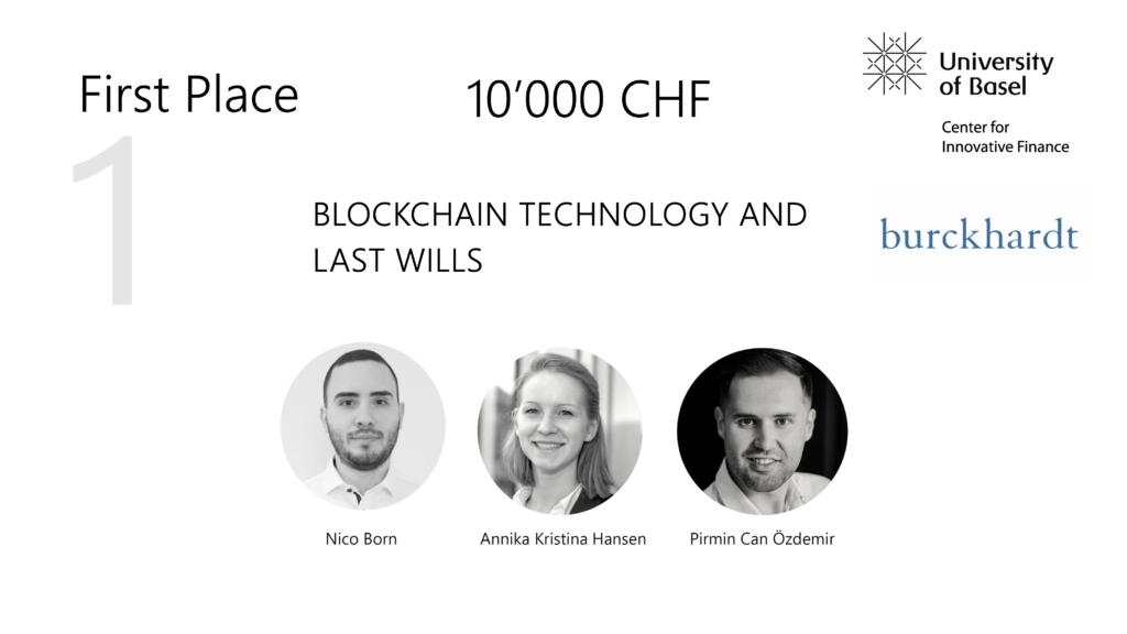 Blockchain Challenge 2021