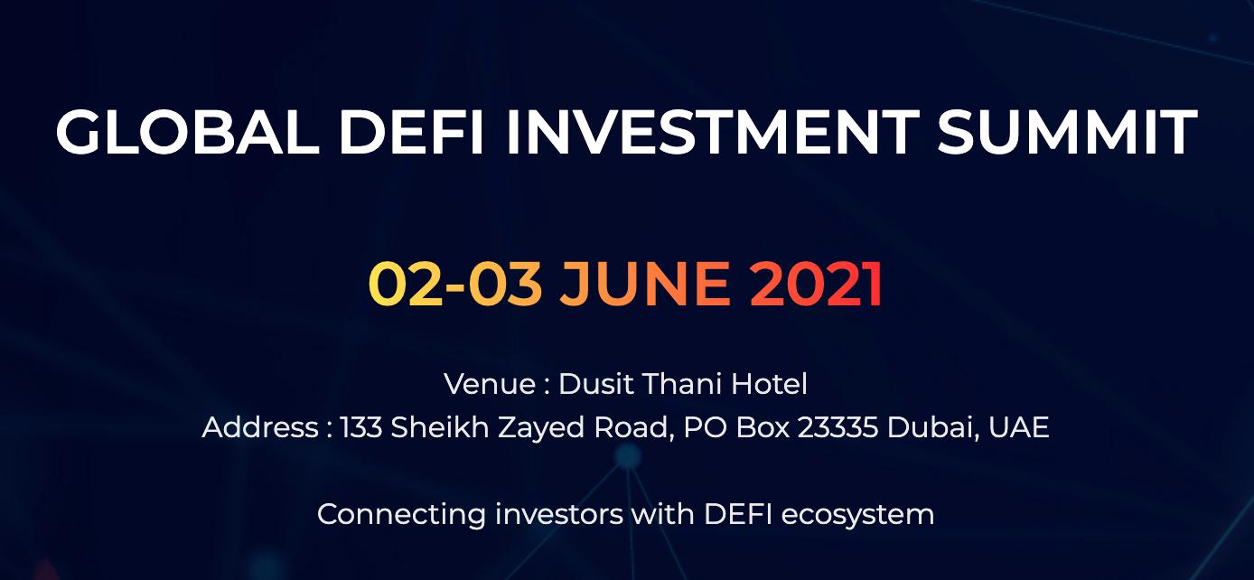 Global DeFi Investment Summit