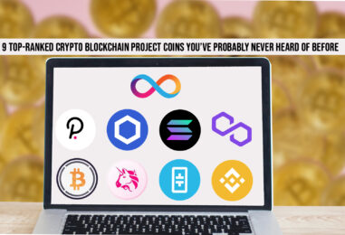 9 Top-Ranked Crypto Blockchain Project Coins You've Probably Never Heard of Before
