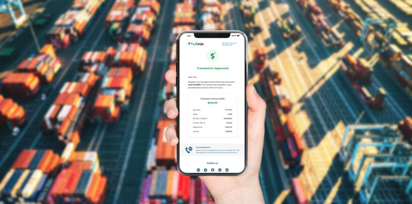 Freight Payments Platform PayCargo Secures US$125 Million From Insight Partners