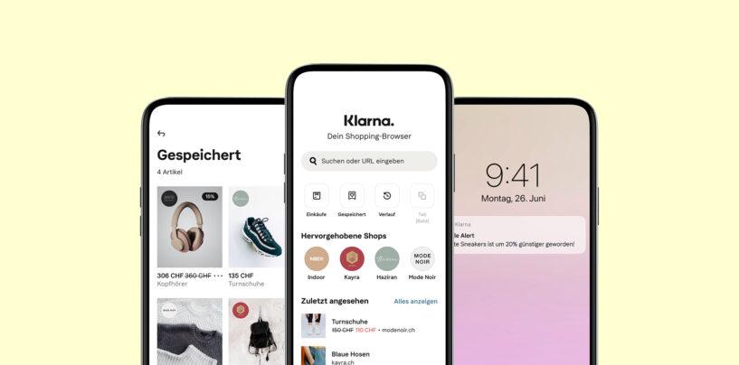 Klarna Launches its Shopping App in Switzerland