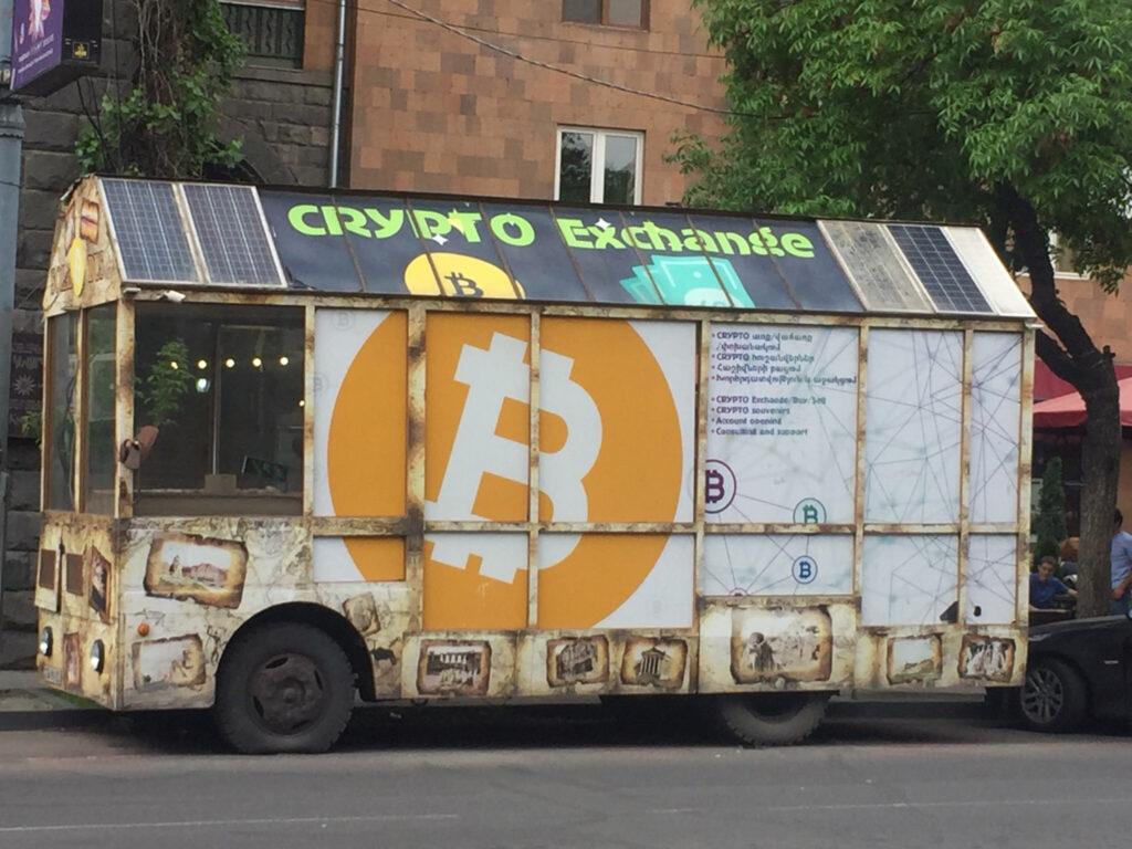 bitcoin bus