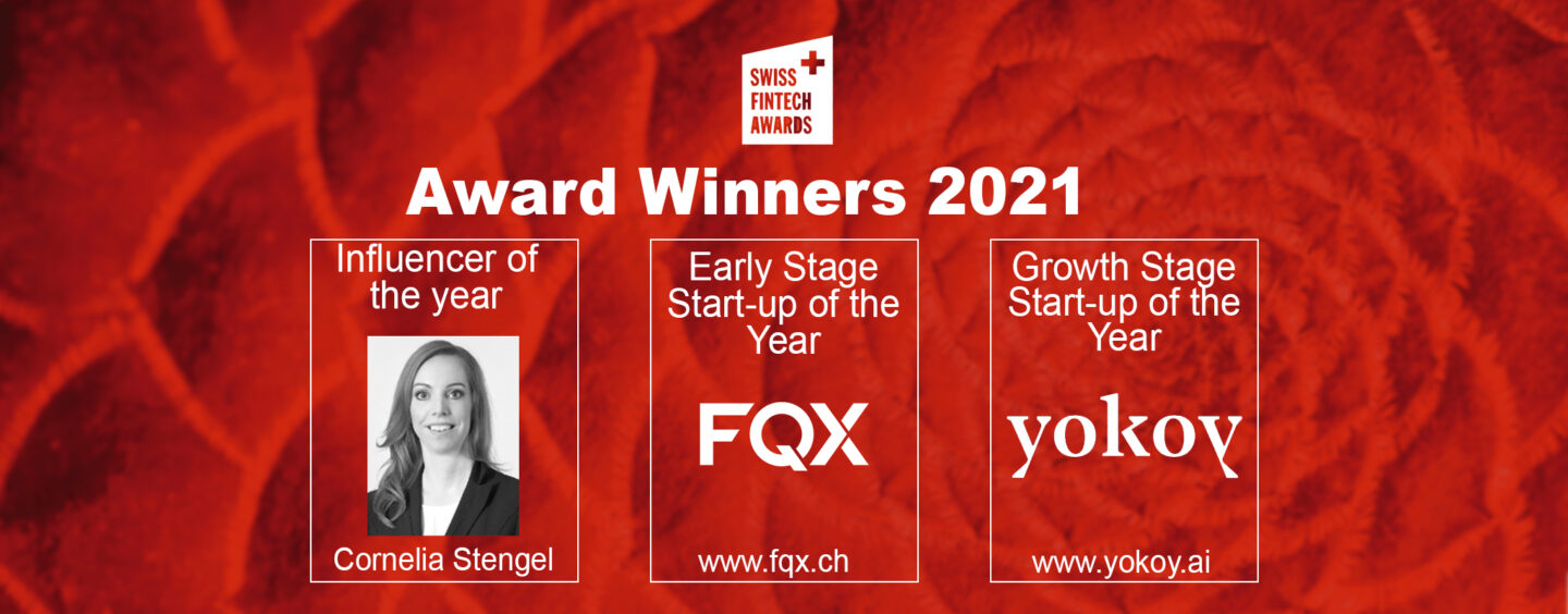 Here Are the Winners of the Swiss Fintech Awards 2021